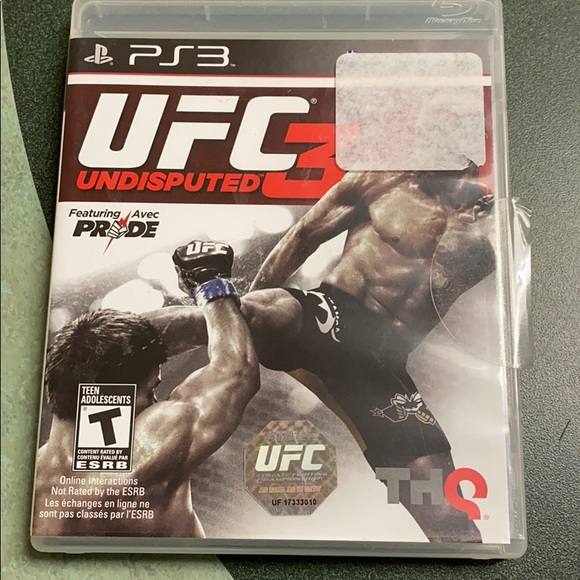 Sony Other - UFC 3 undisputed